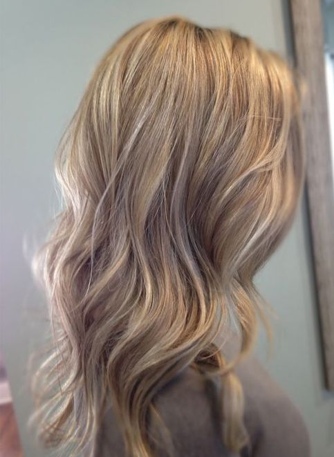 Light Blonde Hairstyles Ideas For Long Hair 2018 Sandy