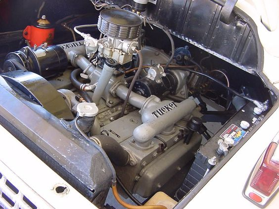 1948 Tucker Engine H 6 Horizontally Opposed Flat 6 335