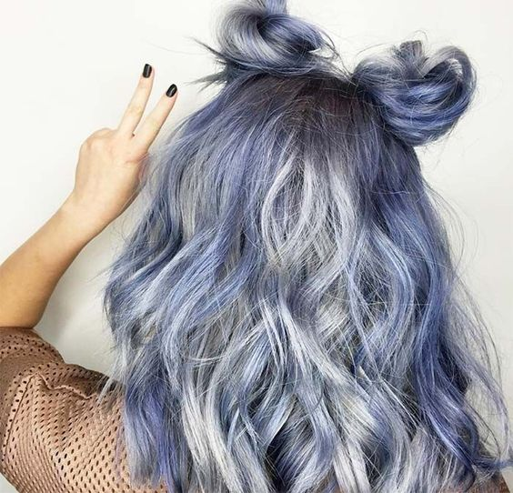 Image result for denim HAIR shade AND A ambitious YOU