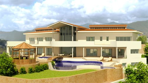 New home designs latest modern villa designs house for Villa ideas designs
