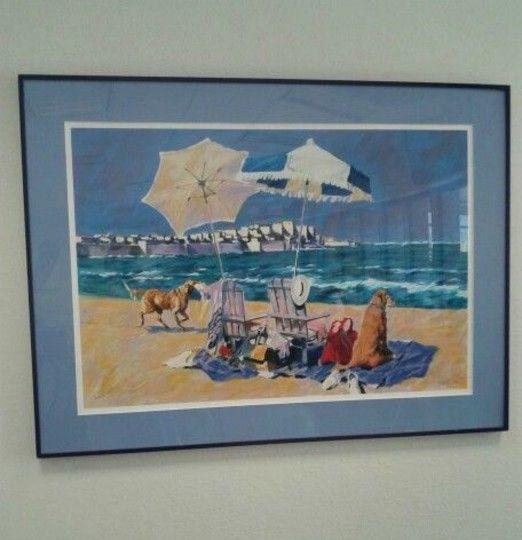Beach Scene: