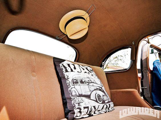 1937 Chevrolet Master Deluxe Lowrider Magazine Hat Holder Hats Vintage Car Accessories