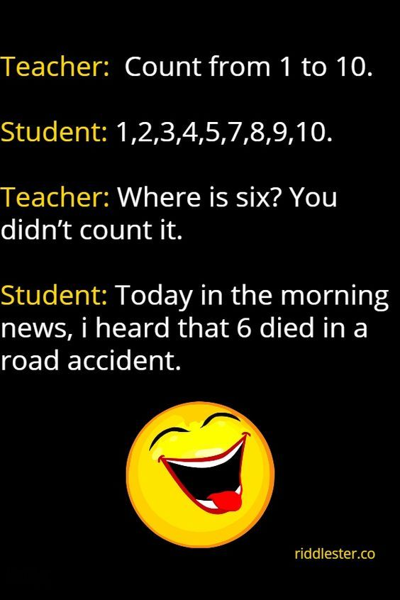 Hilarious Joke That Will Make You Cry For Adults : hilarious, adults, Hilarious, Teacher, Jokes, Laugh, Jokes,, Funny, Clean