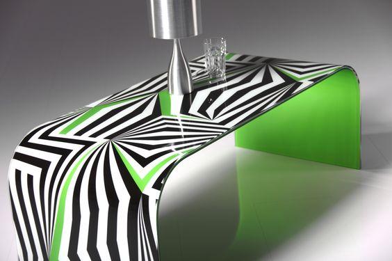 Glastisch Design Karim Rashid Tonelli. 24 best mesas de centro ...