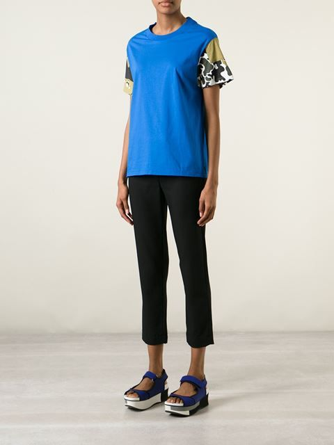 Golden Goose Deluxe Brand Contrasting Sleeves T-shirt - Spazio Pritelli - Farfetch.com