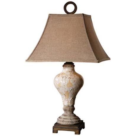 Uttermost Fobello Rustic Ceramic Table Lamp - #R7935 | LampsPlus.com