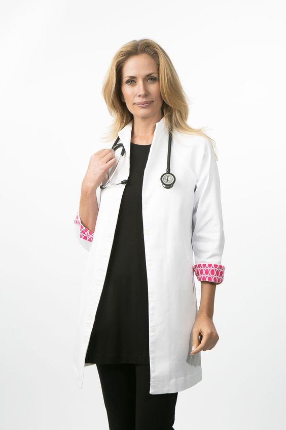 Lab coat asian style