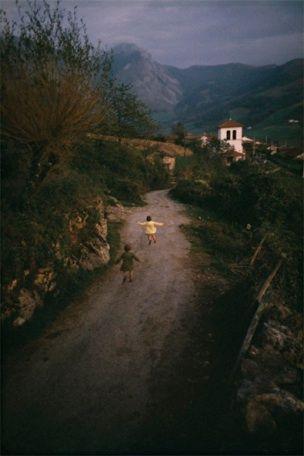 we ran wild down country lanes when we were children