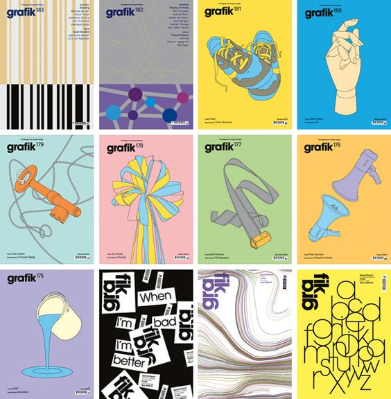 grafik magazine covers