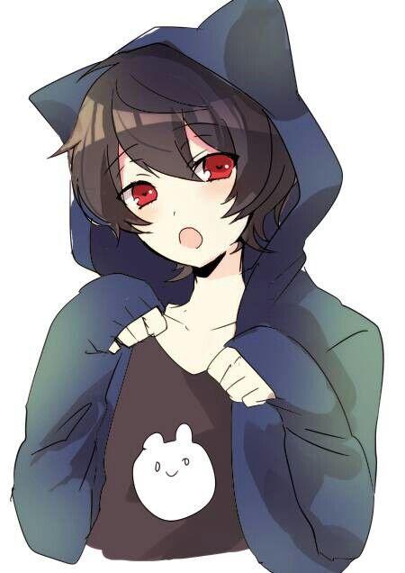 K Anime Characters Neko : He reminds me of an anime character i created boys