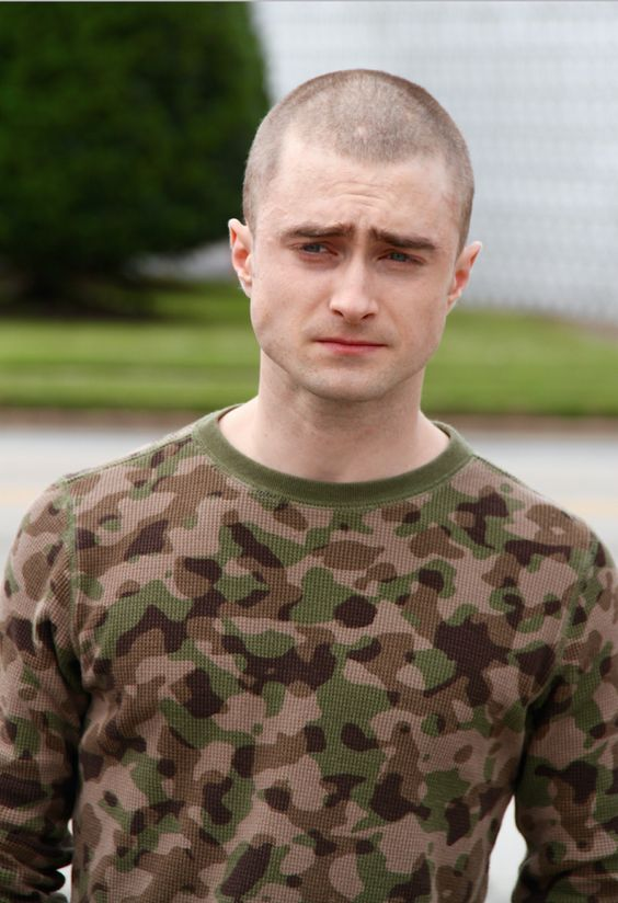 """Daniel Radcliffe gets a dramatic movie makeover for his new role in """"Imperium""""! 
