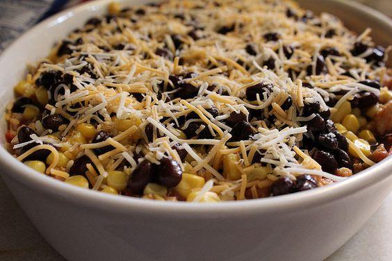 La Bamba Mexican Casserole by jasnicmommy, via Flickr