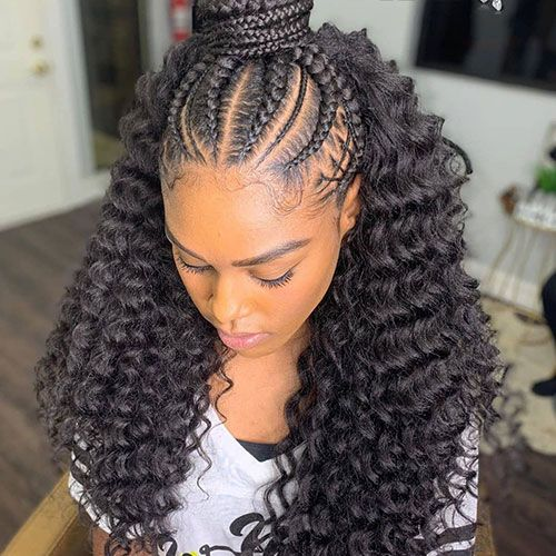 50 Cool Cornrow Braid Hairstyles To Get In 2020 In 2020 Hair Styles Two Braid Hairstyles Braided Hairstyles