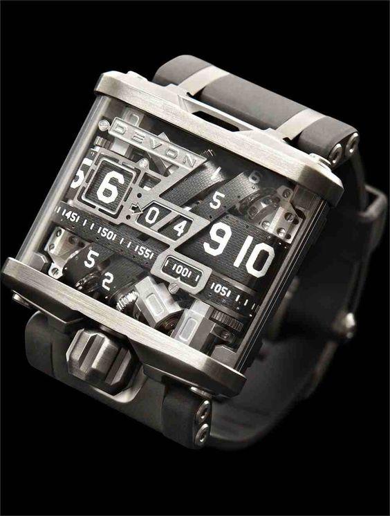 Neato watch that runs on belts and optical sensors. Cost: $17.5k