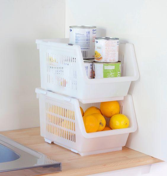 Rangement cellier cuisine ce casier de rangement permet for Rangement cellier cuisine