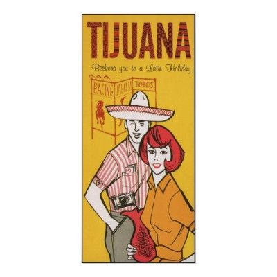 Tijuana Mexico ~ Vintage Mexican #Travel Poster from Zazzle.com
