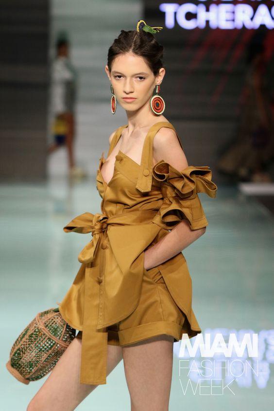 Silvia Tcherassi Runway - Miami Fashion Week