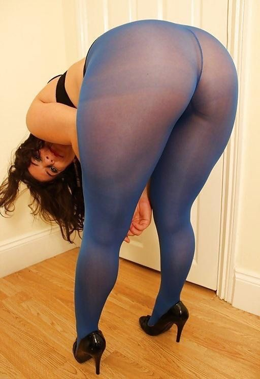 Big butts in pantyhose