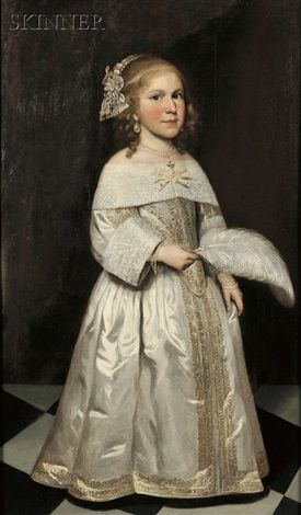 Portrait of a young girl by Jacob Gerritsz Cuyp (1575–1649)