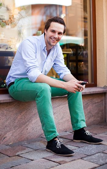 How to wear green pants guys – Global fashion jeans collection