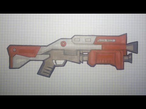 Dessin Fortnite Youtube In 2019 Pixel Art Hand Guns