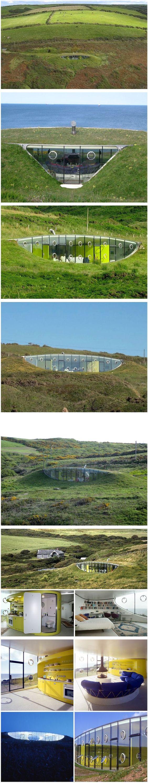 Malator or the teletubby house google pretra ivanje for Malator underground eco house