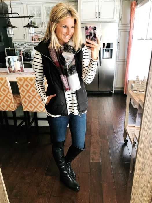 How to Wear Tall Riding Boots with a