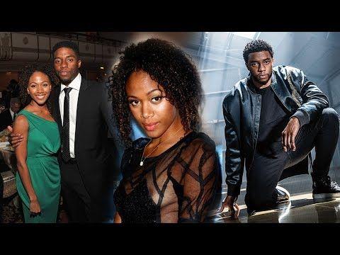 Black Panther Movie Actor Chadwick Boseman Family Photo Parents Wife Girlfriend Nicole B Chadwick Boseman Family Chadwick Boseman Serena Williams Wedding