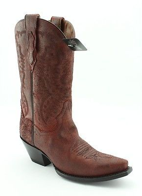 Dan Post Rodeo 11 Red Boot Womens size 7.5 M  $270
