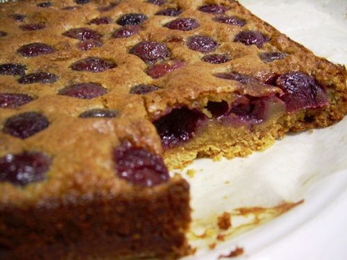 cherry and chocolate chip brown butter bars | Food & Recipes ...
