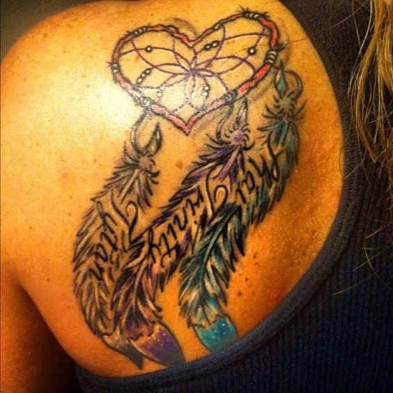 Dream Catcher With Names View Meaningful Dreamcatcher Tattoo Designs 40 Dream Catcher Names 31
