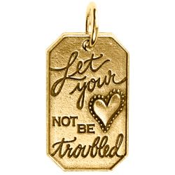 "Origami Owl and The Band Perry believe in the power of being a pioneer, and we want you to take on a bold new adventure. Wear this Gold Pioneer Tag as a reminder to be brave and leave past troubles behind. ""Let Your Heart Not Be Troubled"" is expressed on the front and ""I'll go Anywhere"" is quoted on the back of this limited edition Tag."