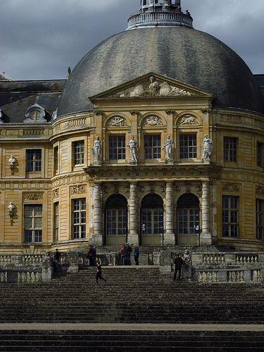 chateau de Vaux le Vicomte. Seine-et-Marne