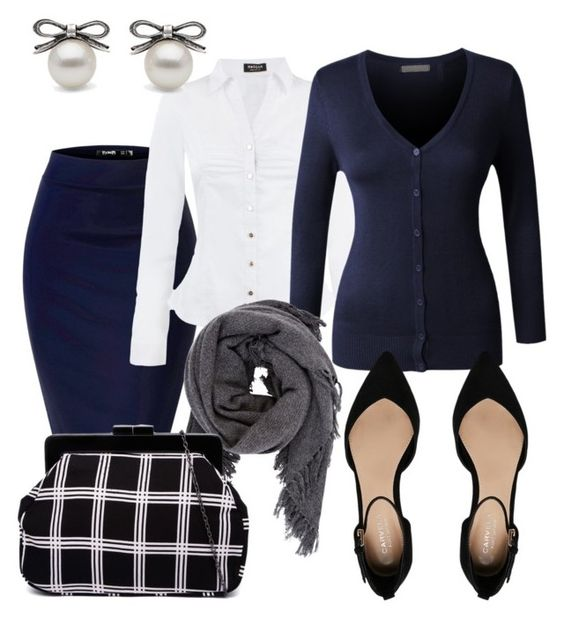 """""""Get to Work"""" by dancingwdaleks on Polyvore featuring Morgan, LE3NO, Carvela and Isabel Marant"""