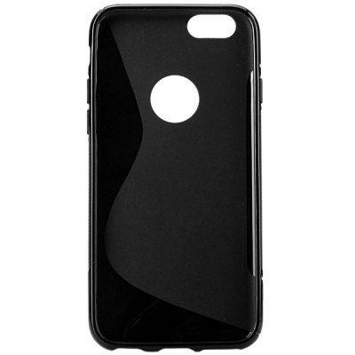 $2.71 (Buy here: http://appdeal.ru/b0cd ) Soft TPU Material Pure Color Protective Back Cover Case for iPhone 6 for just $2.71