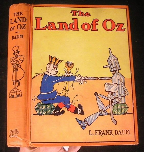 The Land of Oz 1939 L. Frank Baum old book: