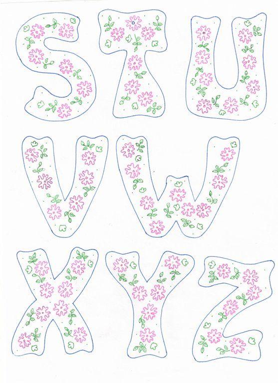 Las 17 mejores imágenes sobre Letras en Pinterest | Cartas, Páginas ...