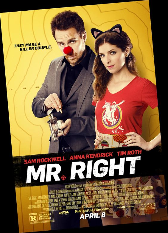 Movie Mr. Right (2015) download torrent free movies without downloading HD    movies_756   Pinterest   Movie and Films