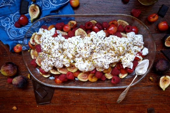 The best damn fruit salad this summer...new from the true spoon!