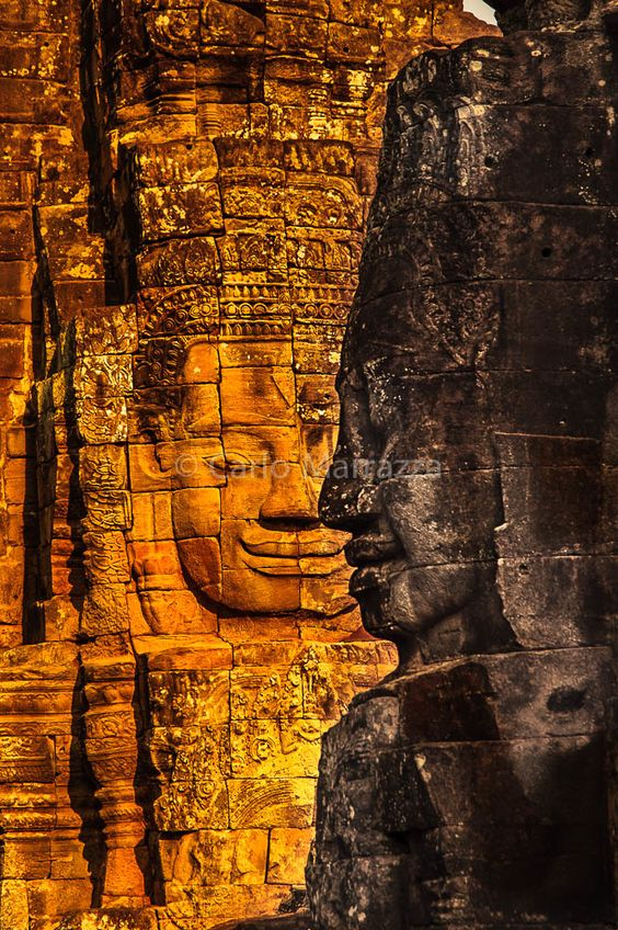 Байон, Ангкор, Камбоджа |  от carlo marrazza на 500px