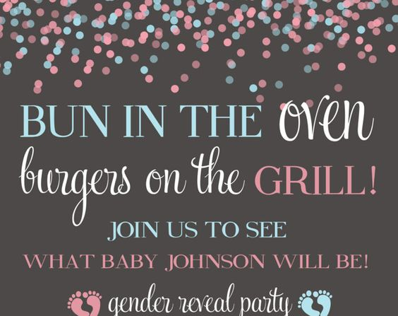 gender reveal party gender reveal diaper ticket blue and pink gender invitation - Gender Reveal Party Invites