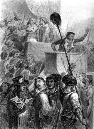 Les insurgés demandent du pain et la Constitution de 1793