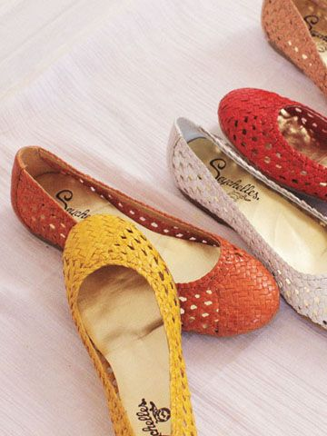 Our new AGAINST THE GRAIN flats in an array of colors. Comfy + Lovely.