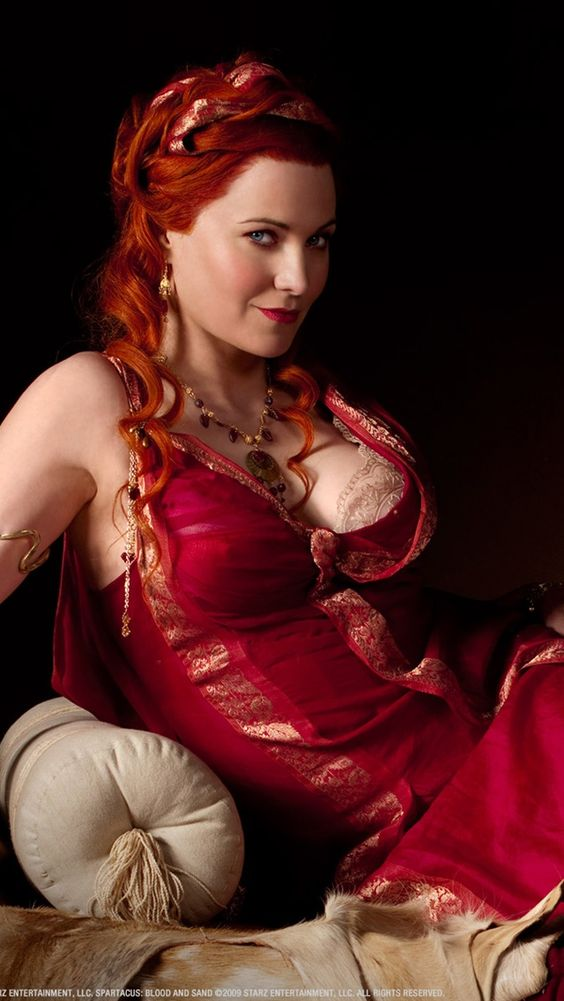Lucy Lawless in Spartacus Blood and Sand iPhone 5 5S 5C Hintergrundbilder - 640x1136