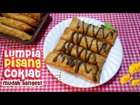 Resep Lumpia Pisang Coklat Praktis Youtube Roti Hot Dog Pisang Coklat