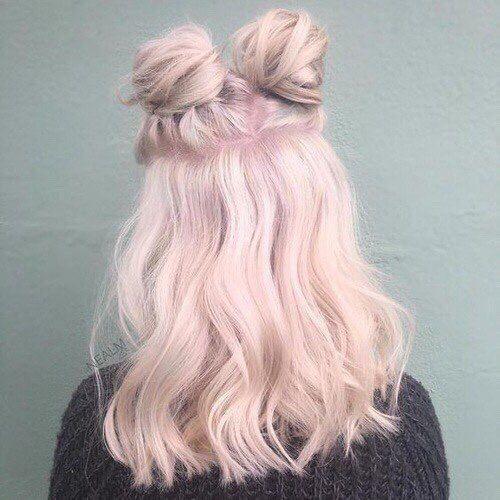 Pink Hair Shoulder Length Wavy Wig Pastel Pink Hair Hair Styles Pink Hair
