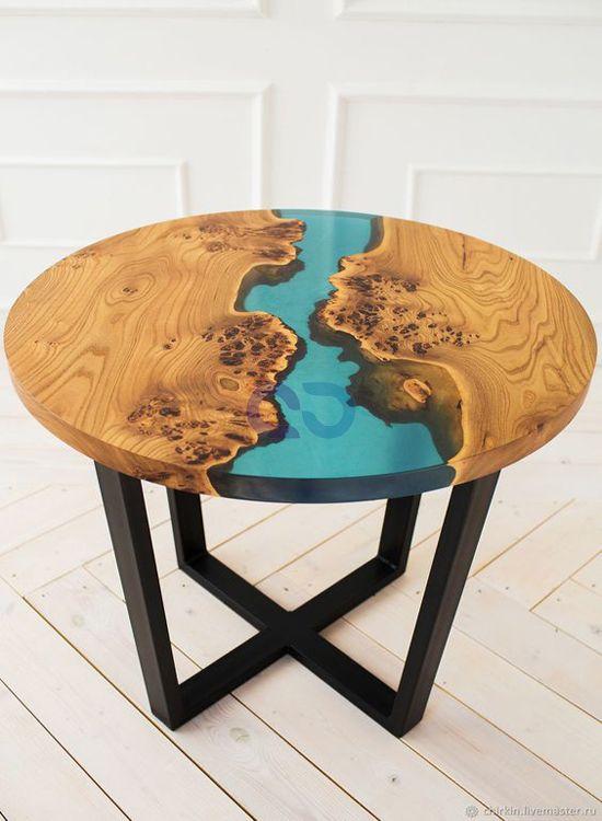 Live Edge Furniture Aura Glow Interio Dharuhera Haryana India In 2020 Wood Resin Table Wood Table Design Resin Furniture