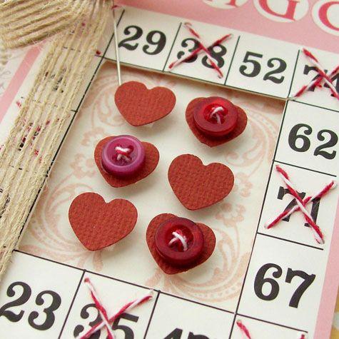 bingo craft cards from vintage street market