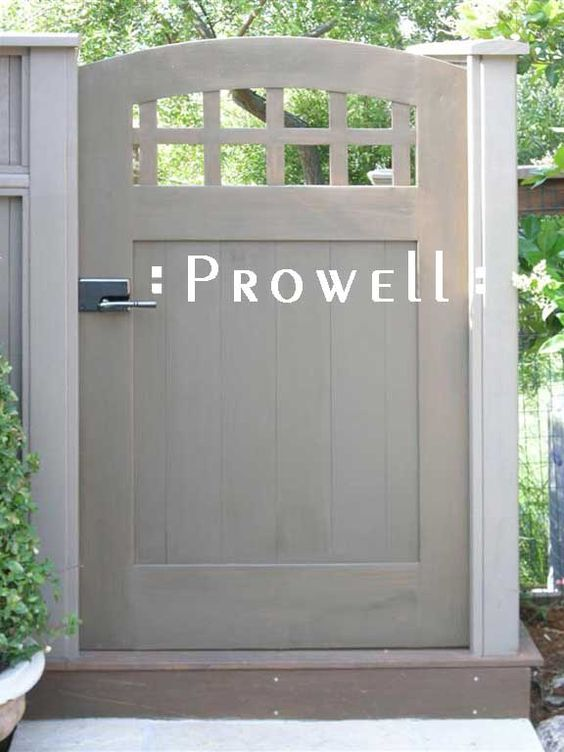 Prowell woodworks 39 premier garden gate 20 b loves this for Small garden gate designs