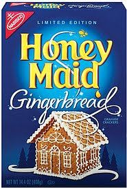 Gingerbread Graham Cracker House & Frosting Recipe
